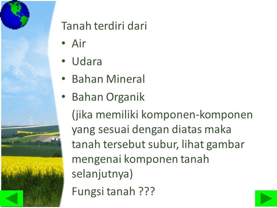 Dampak dari erosi dan degradasi lahan : • Genangan air yang berada di rawa atau muara sungai.