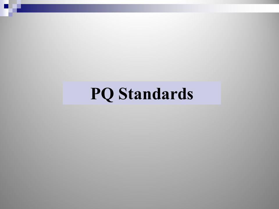 PQ Standards