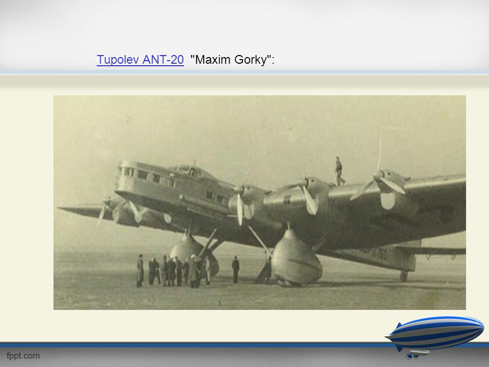 Tupolev ANT-20Tupolev ANT-20
