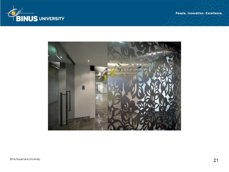 Bina Nusantara University 21