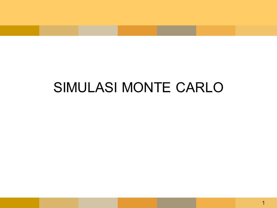 1 SIMULASI MONTE CARLO
