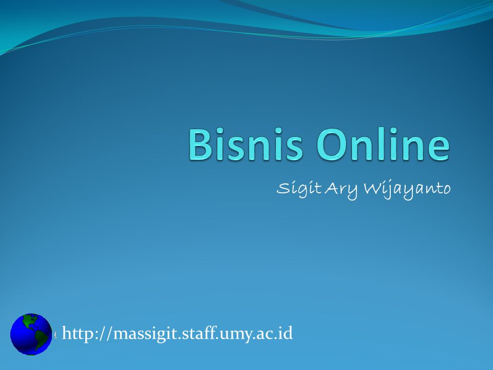Sigit Ary Wijayanto http://massigit.staff.umy.ac.id