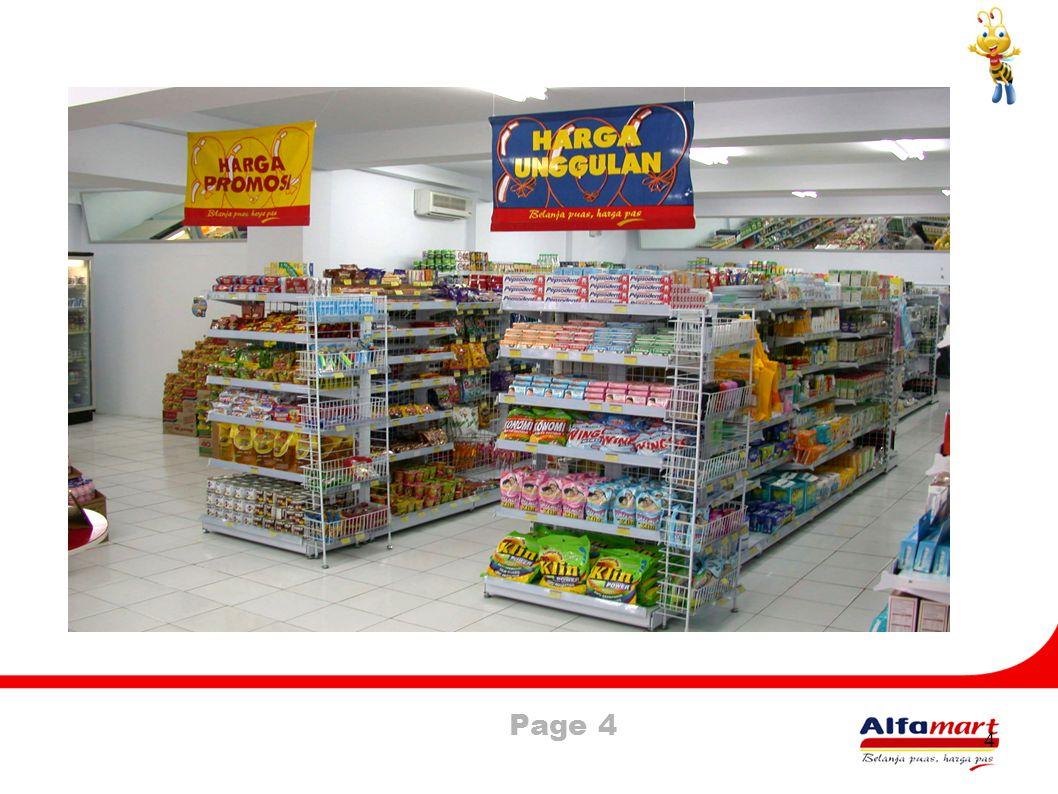 Page 5 5 Alfa mart merupakan perusahaan jasa eceran yang menyediakan kebutuhan pokok & sehari-hari dengan luas kurang dari 250 M2.