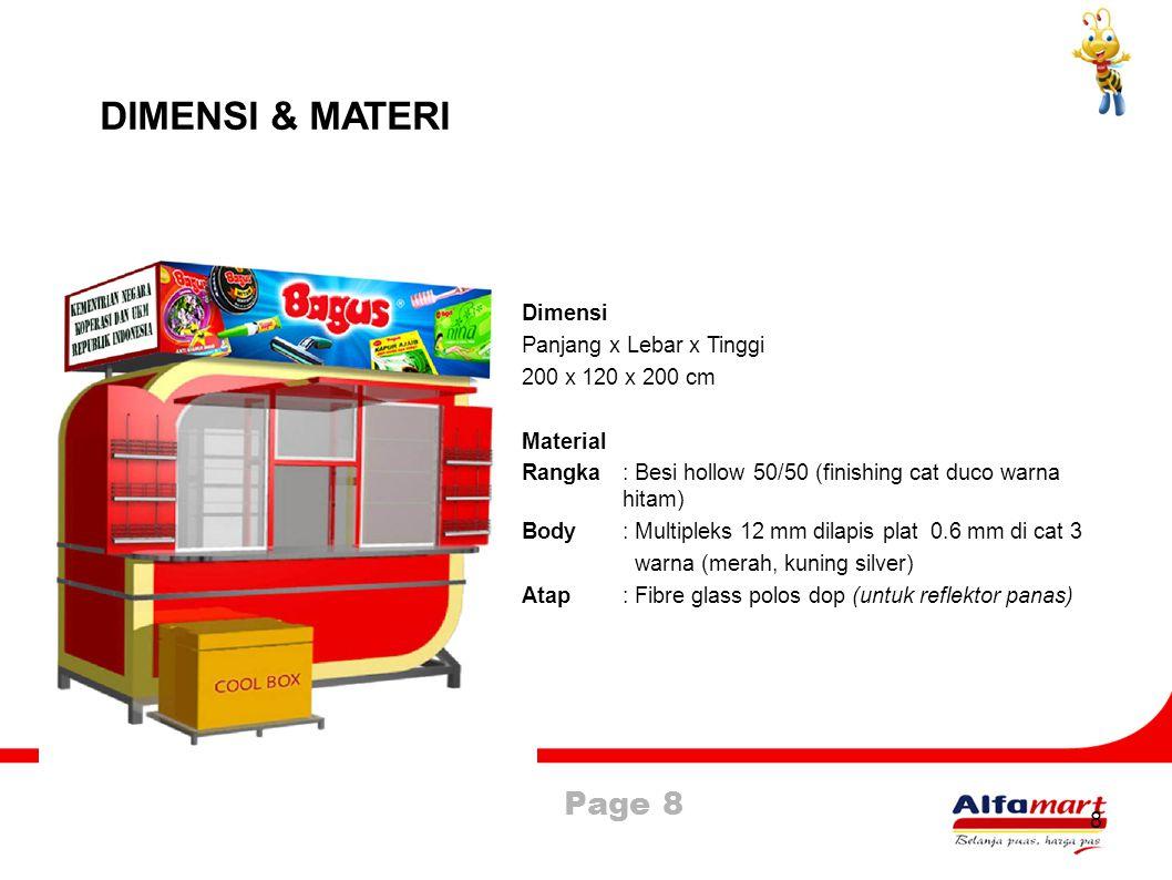 Page 9 9 JALUR DISTRIBUSI Produsen & Distributor Distribution Centre Alfamart Alfamart Kios Pedagang Kecil Konsumen Alfamart Kios Pedagang Kecil Konsumen
