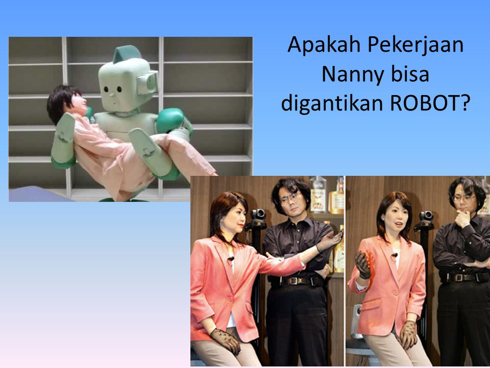 Apakah Pekerjaan Nanny bisa digantikan ROBOT
