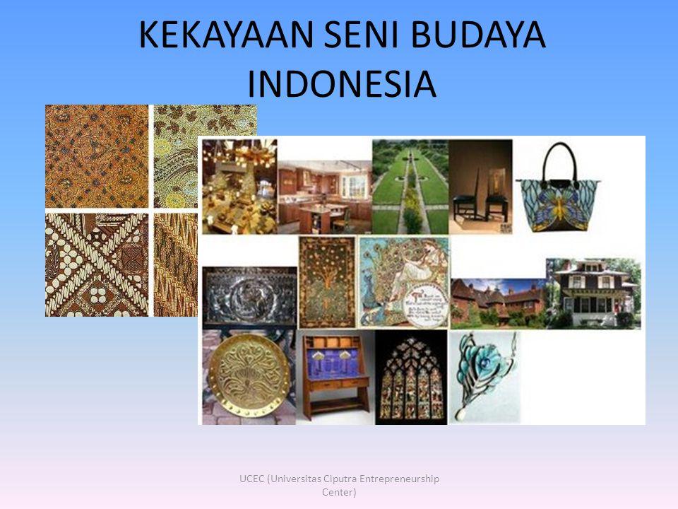 KEKAYAAN SENI BUDAYA INDONESIA UCEC (Universitas Ciputra Entrepreneurship Center)