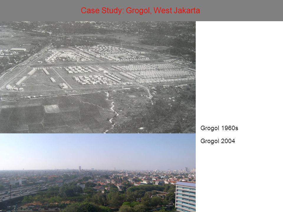 Grogol 1960s Grogol 2004 Case Study: Grogol, West Jakarta