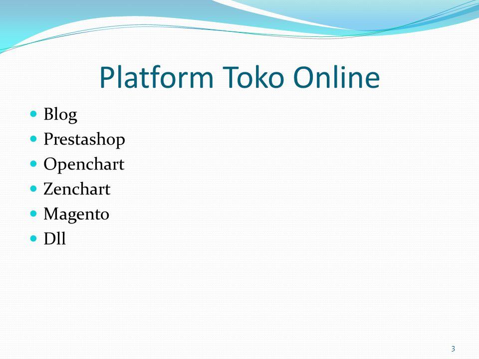 Platform Toko Online  Blog  Prestashop  Openchart  Zenchart  Magento  Dll 3