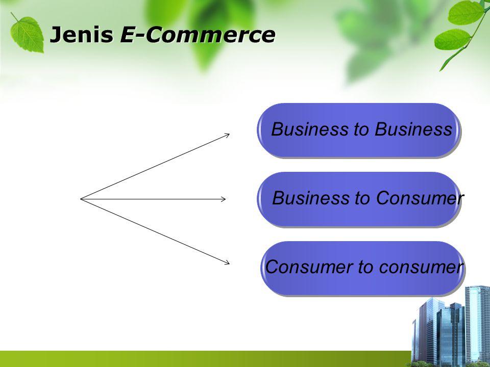Pokok-pokok E-Commerce  Pengendalian Akses dan Keuangan  Membuat profil dan Personalisasi  Manajemen Pencarian  Manajemen Isi dan Katalog  Manajemen Arus Kerja  Pemberitahuan Kegiatan  Kerjasama dan Perdagangan
