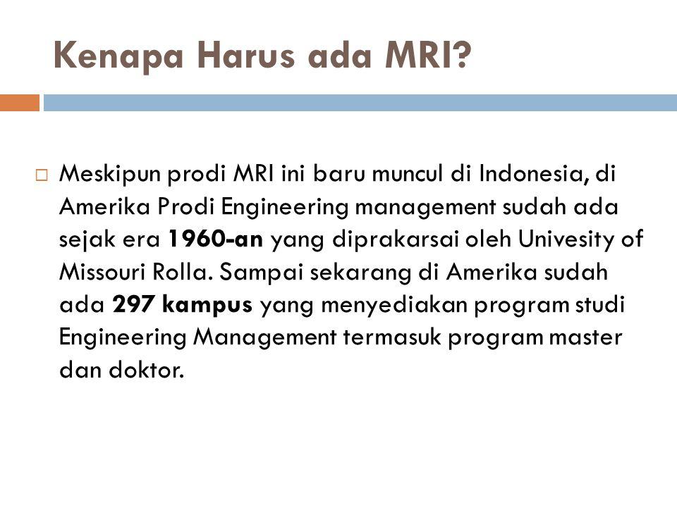 Kenapa Harus ada MRI.