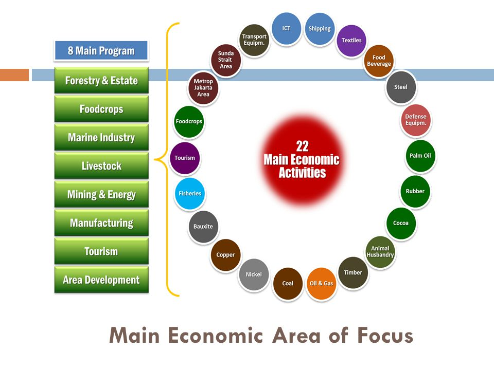 Main Economic Area of Focus 29