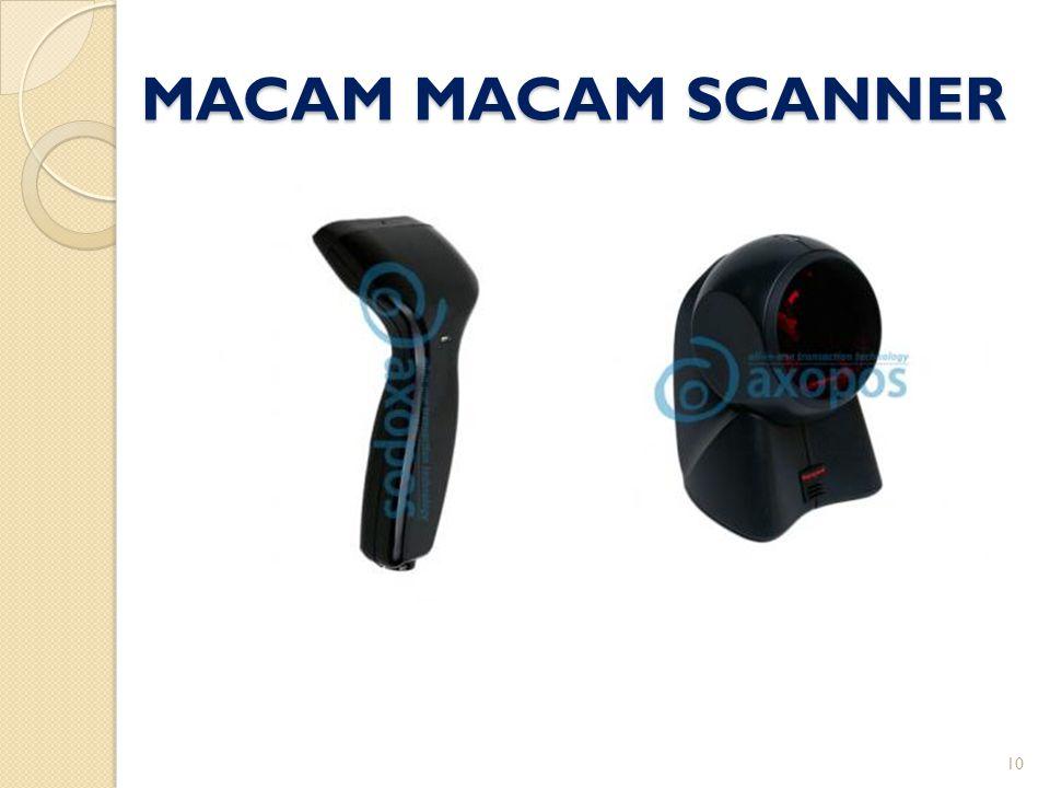 MACAM MACAM SCANNER 10