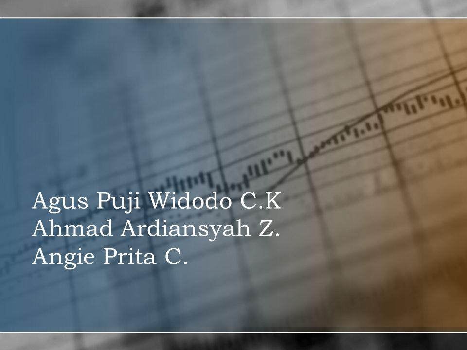 Agus Puji Widodo C.K Ahmad Ardiansyah Z. Angie Prita C.