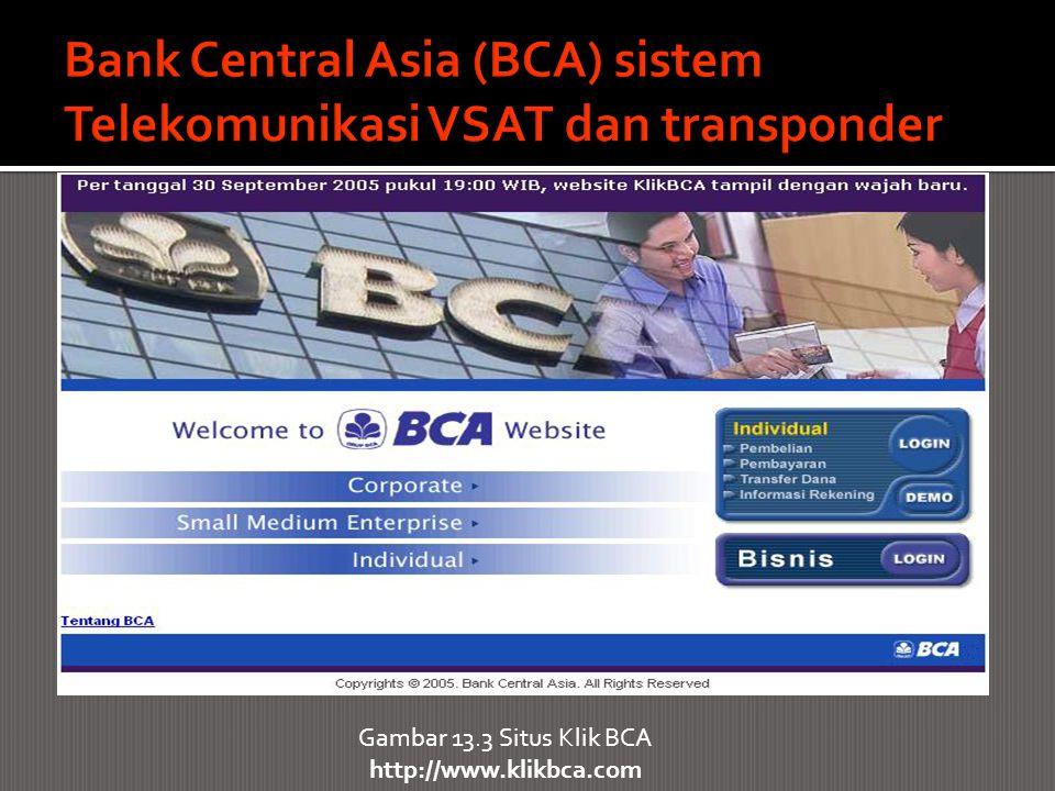Gambar 13.3 Situs Klik BCA http://www.klikbca.com