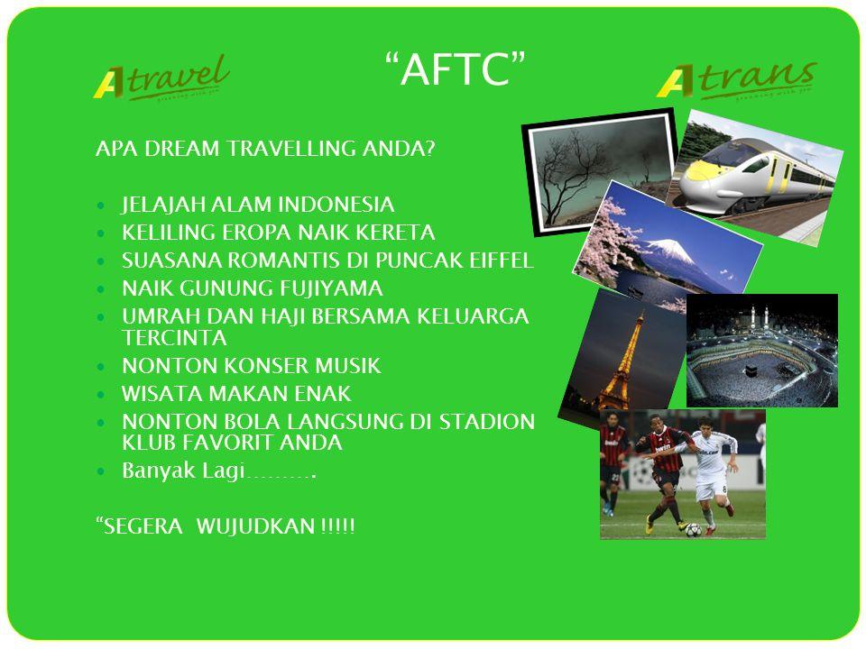 AFTC APA DREAM TRAVELLING ANDA.