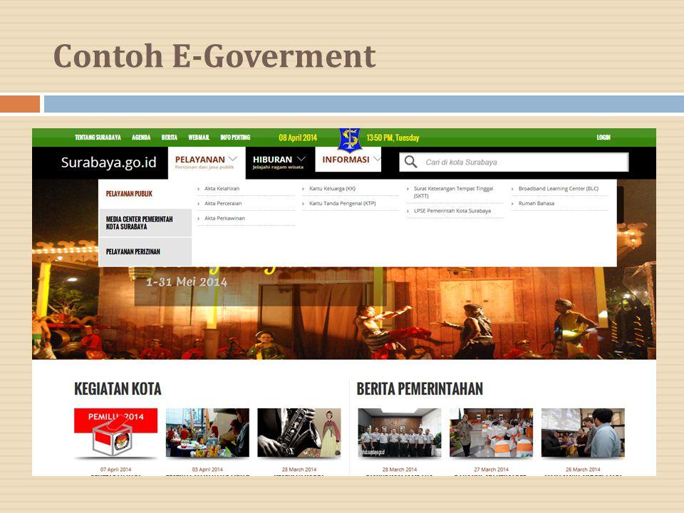 Contoh E-Goverment