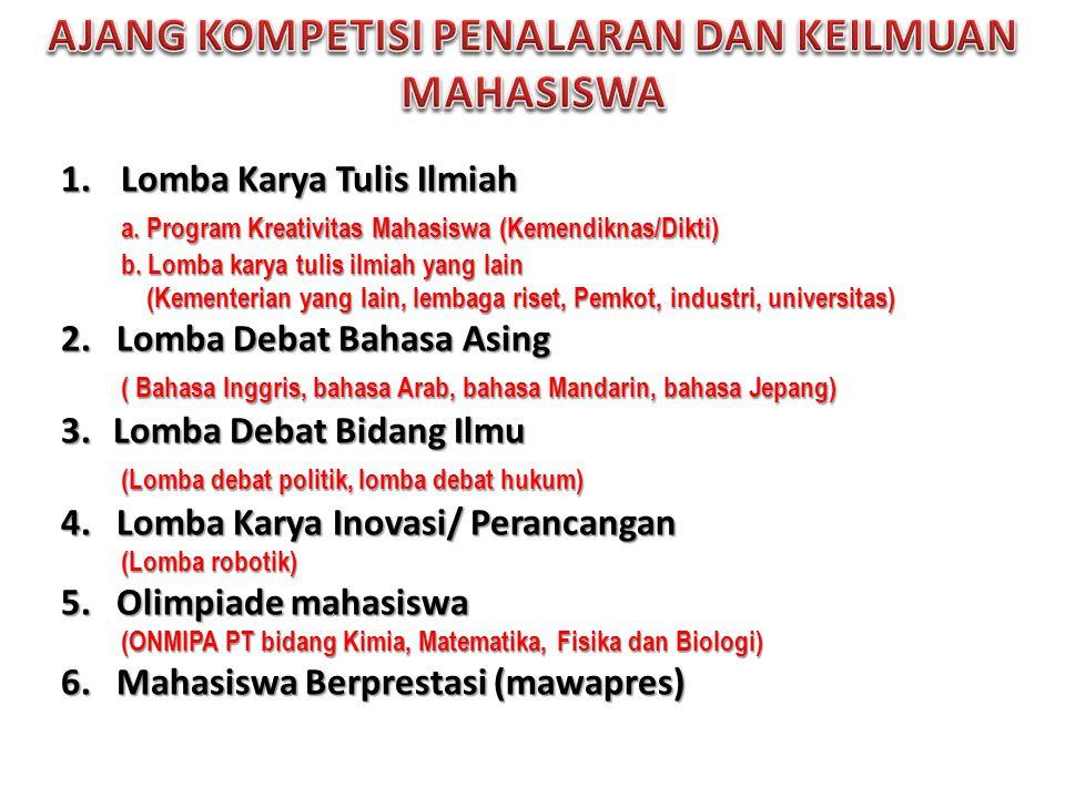 PRESTASI MAHASISWA UNAIR TAHUN 2011 • PIMNAS ke 24 di Makassar tahun 2011 • Presentasi: 1 emas, 1 perak dan 1 favorit • Poster: 2 perunggu • Juara di ajang karya tulis bidang ilmu yang diadakan beberapa universitas • Mendapat beberapa penghargaan di ajang lomba pidato dan debat bahasa asing • Juara umum kimia dalam Olimpiade Nasional bidang MIPA Perguruan Tinggi (ONMIPA PT) 1 medali emas, 2 medali perak dan 3 medali perunggu Bidang Biologi memperoleh 1 medali emas