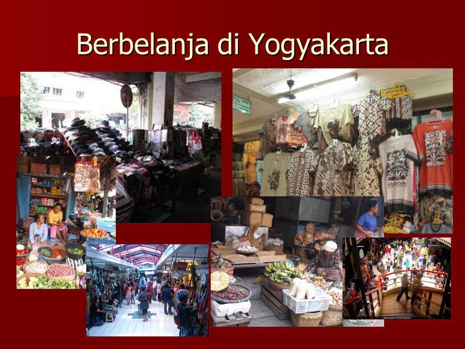 Berbelanja di Yogyakarta