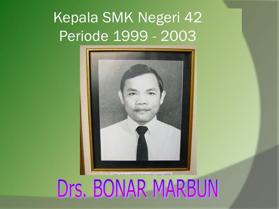 Kepala SMK Negeri 42 Periode 1994 - 19991
