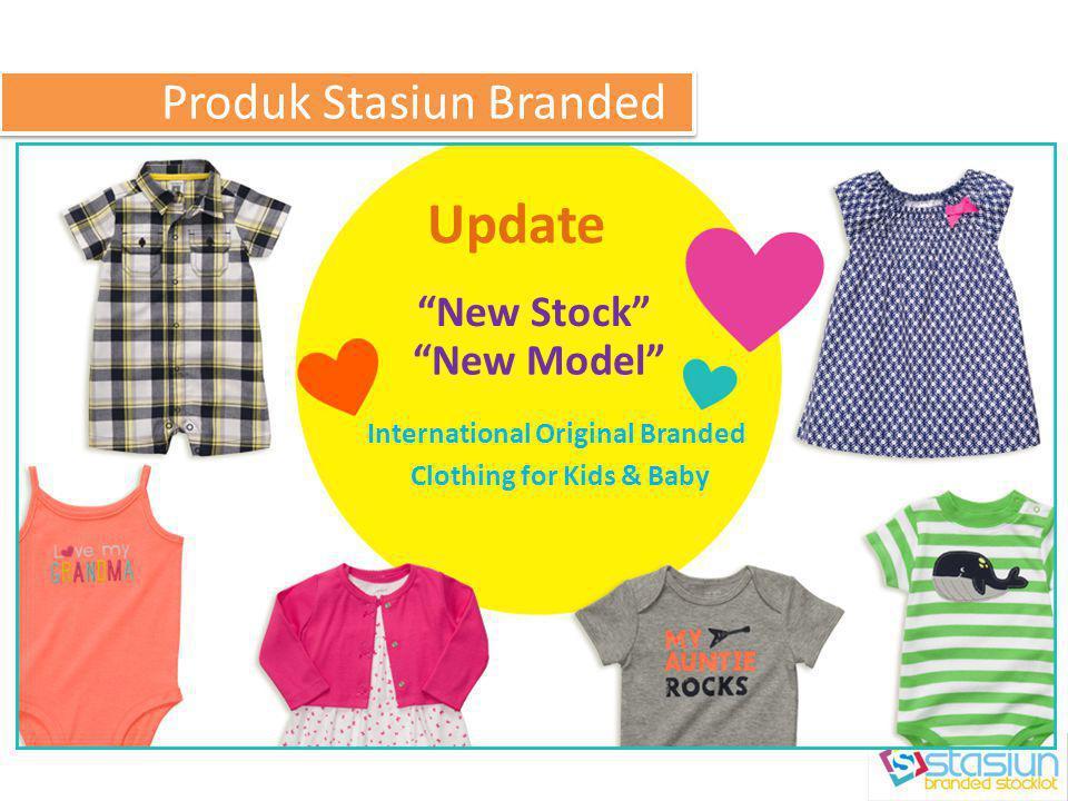 Update New Stock New Model Produk Stasiun Branded International Original Branded Clothing for Kids & Baby