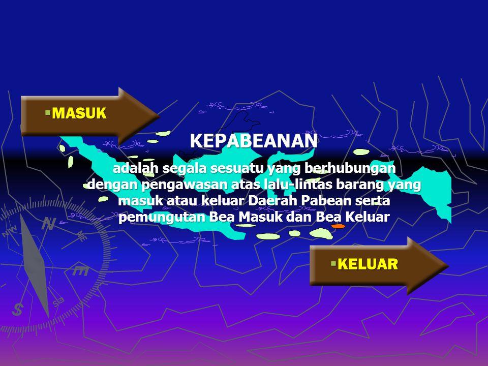 DASAR HUKUM • UU NO. 10 /1995 tentang Kepabeanan jo UU. 17/2006 • SK Menteri Keuangan RI No. 453/04/2002 tentang Tatalaksana Kepabeanan di Bidang Impo