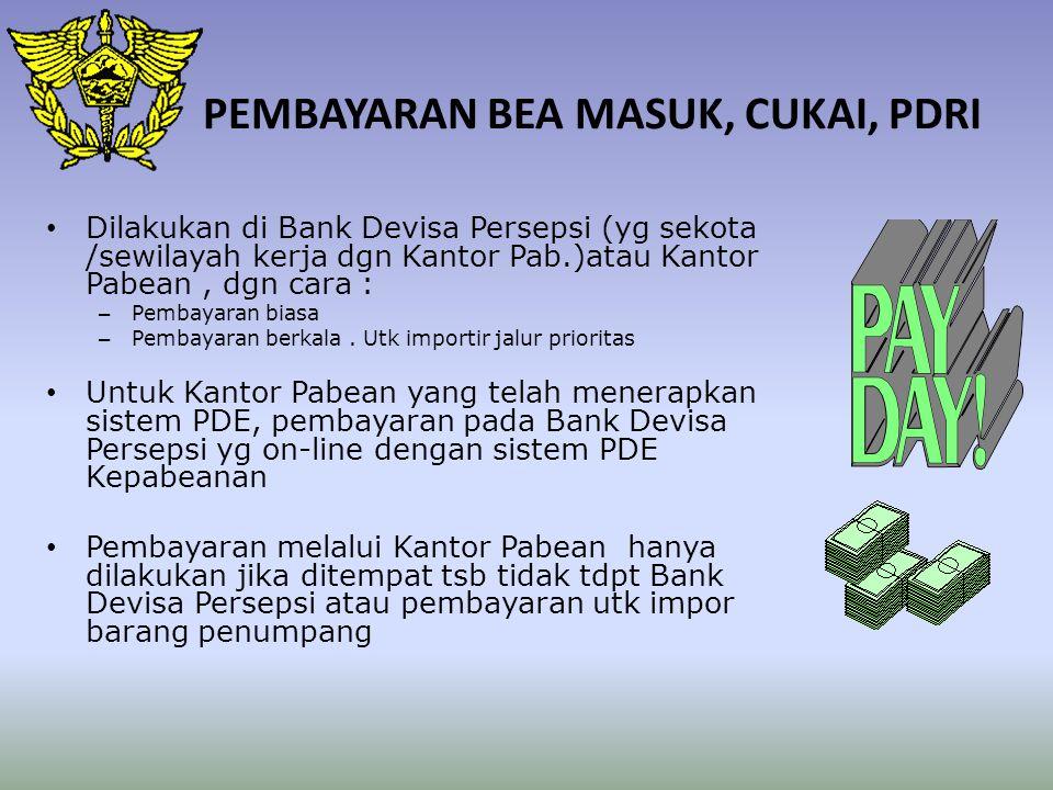 PASAL 27 UU NO. 10/1995: PENGEMBALIAN BM SEBAGIAN / SELURUHNYA ATAS:  KESALAHAN TATA USAHA.  PASAL 25 DAN 26.  REEKSPOR ATAU DIMUSNAHKAN BC.  JML