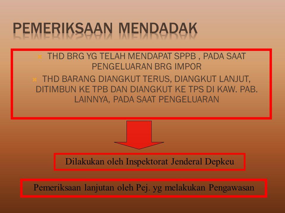 Pengeluaran Barang Merah Bank Bayar Bukti Bayar Pemeriksaan Fisik TATAKERJA PENYELESAIAN BARANG IMPOR DENGAN PIB SECARA MANUAL (JALUR PRIORITAS) Back