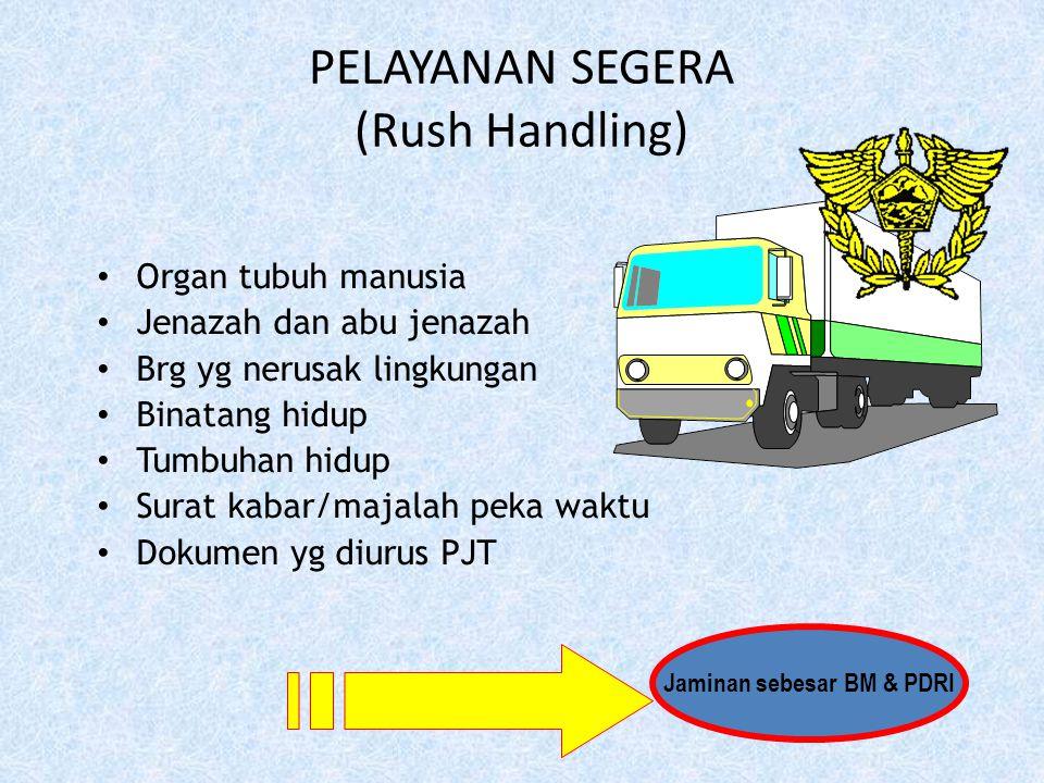 1. Menggunakan PIB dan dok. pelengkap pabean serta bukti pembayaran/jaminan 2. Utk brg penumpang, menggunakan PIBT 3. Untuk yang mendapat fasilitas ke