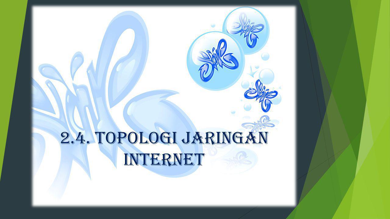 2.4. TOPOLOGI JARINGAN INTERNET