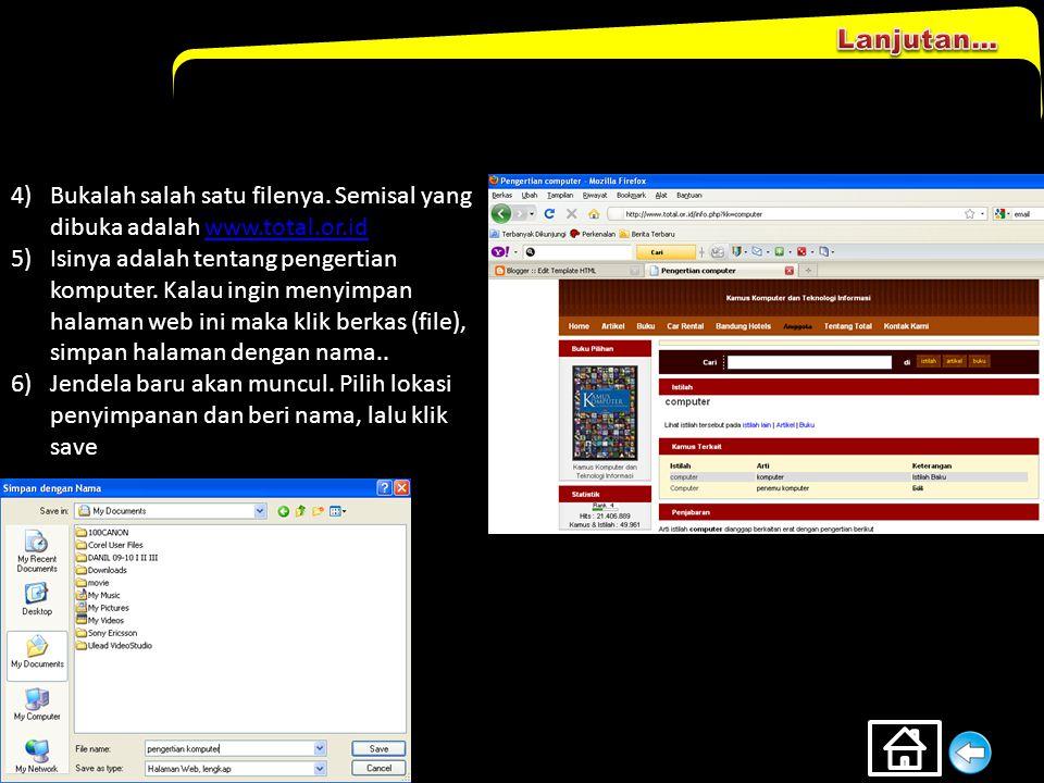 DEFINISI Download merupakan aktifitas mengambil file, baik berupa dokumen, musik, film, dsb dari situs internet untuk disimpan di komputer. Berikut in