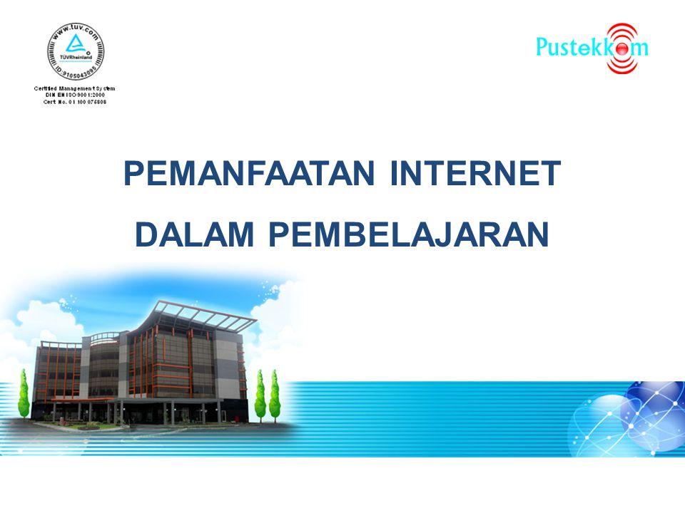 INTERNET - Interconnected Network Definisi Secara umum Internet adalah sebuah sistem komunikasi global yang menghubungkan berbagai mesin komputer dan jaringan-jaringan komputer di seluruh dunia.