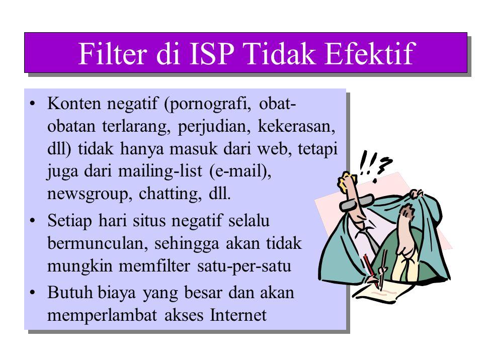 Filter di ISP Tidak Efektif Situs pornografi berada dalam server yang sama dengan situs agama.