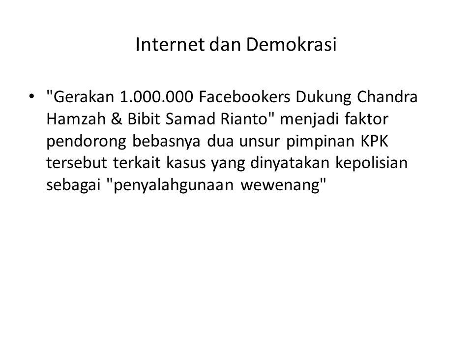 Internet dan Demokrasi •