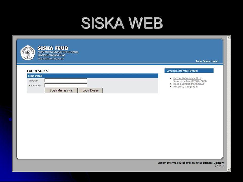 SISKA WEB