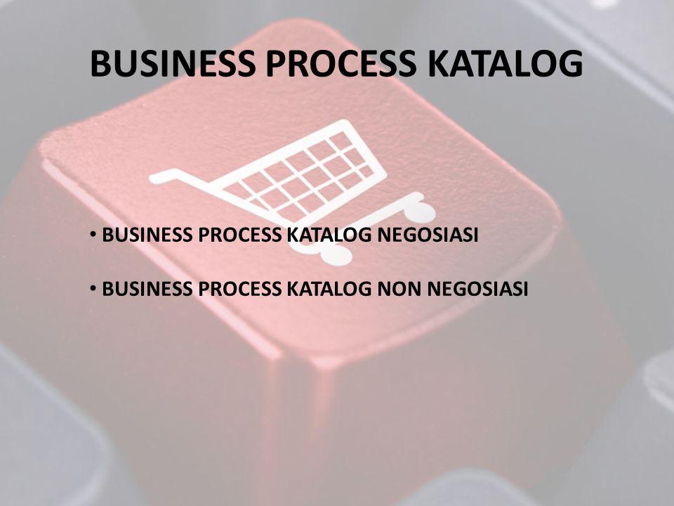 BUSINESS PROCESS KATALOG NEGOSIASI LKPPPENYEDIA NEGOSIASI KONTRAK PAYUNG KATALOG HARGA HARGA RETAIL DAN PEMERINTAH PER KABUPATEN HARGA PASAR & VERIFIKASI PENYEDIA 1/THN www.e-katalog.lkpp.go.id