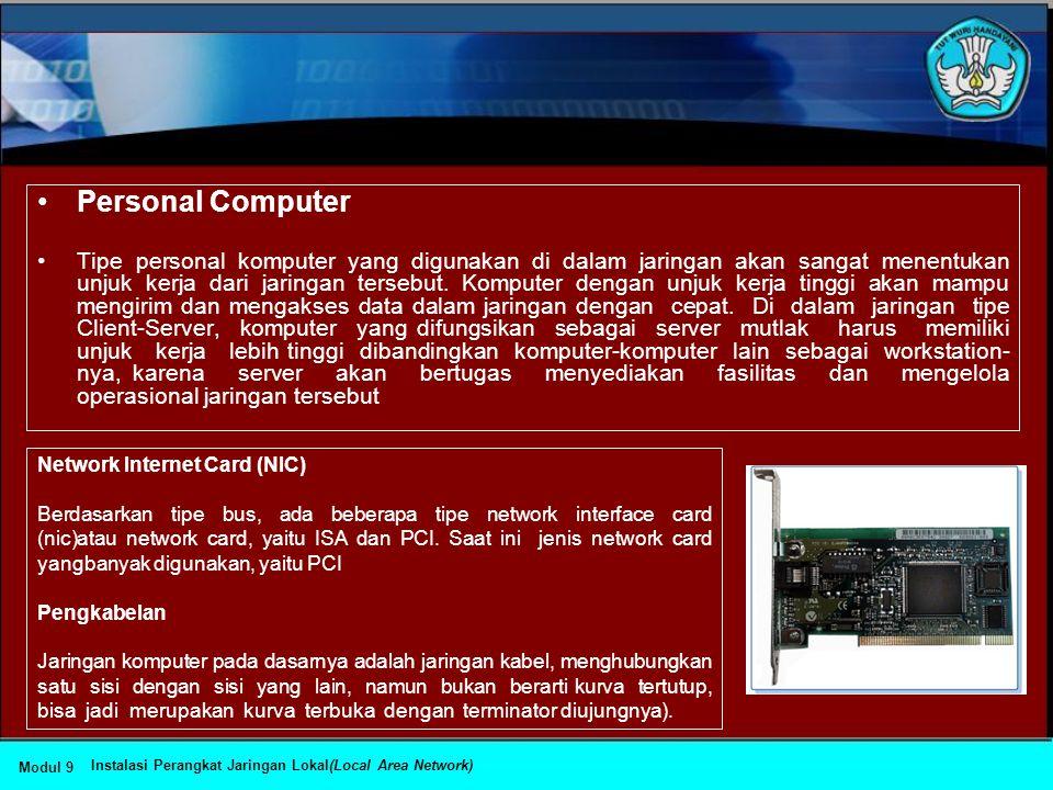 •DHCP (Dynamic Host Configuration Protocol) •IP address dan subnet mask dapat diberikan secara otomatis menggunakan Dynamic Host Configuration Protoco