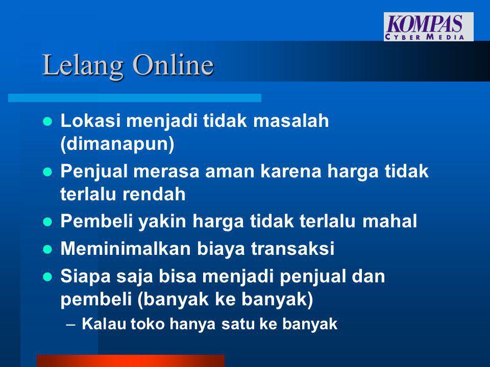 Internet di Indonesia  Optimis : –Warung Internet makin menjamur –Banyak perusahaan sudah sadar Internet –Ekonomi yang membaik