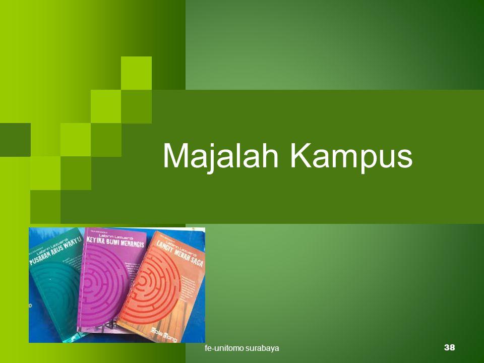 fe-unitomo surabaya38 Majalah Kampus