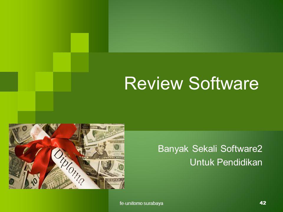 fe-unitomo surabaya42 Review Software Banyak Sekali Software2 Untuk Pendidikan