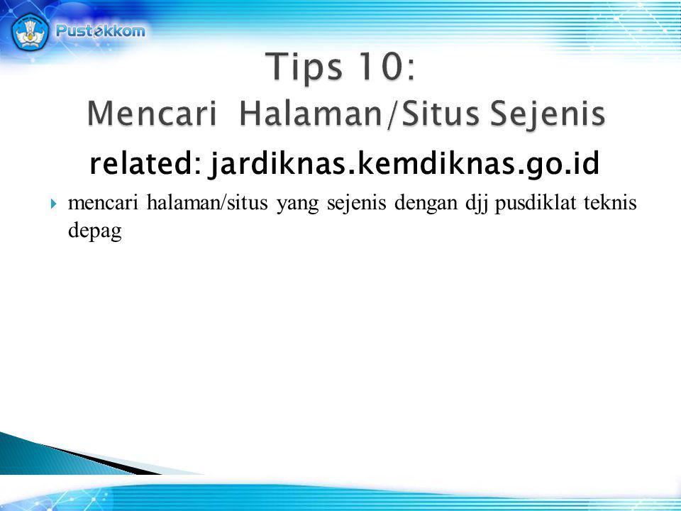 related: jardiknas.kemdiknas.go.id  mencari halaman/situs yang sejenis dengan djj pusdiklat teknis depag
