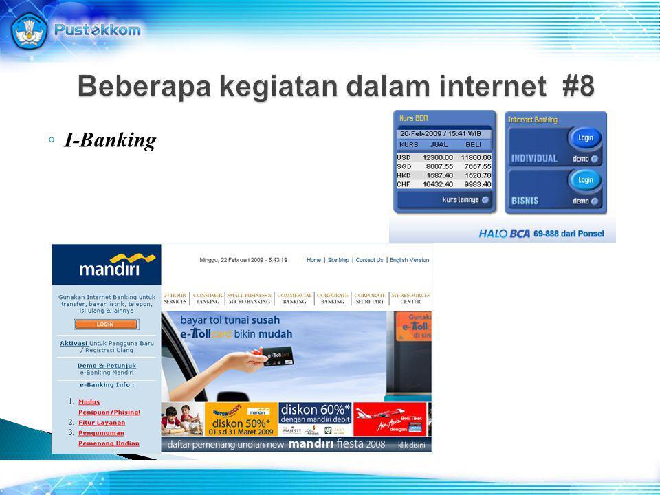◦ E-Commerce