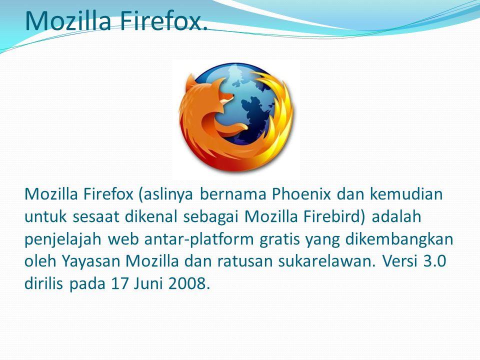 Opera.Opera adalah penjelajah web dan paket perangkat lunak Internet antar-platform.