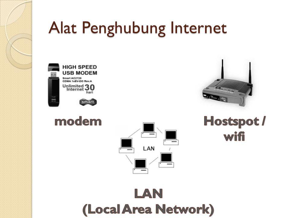 Alat Penghubung Internet