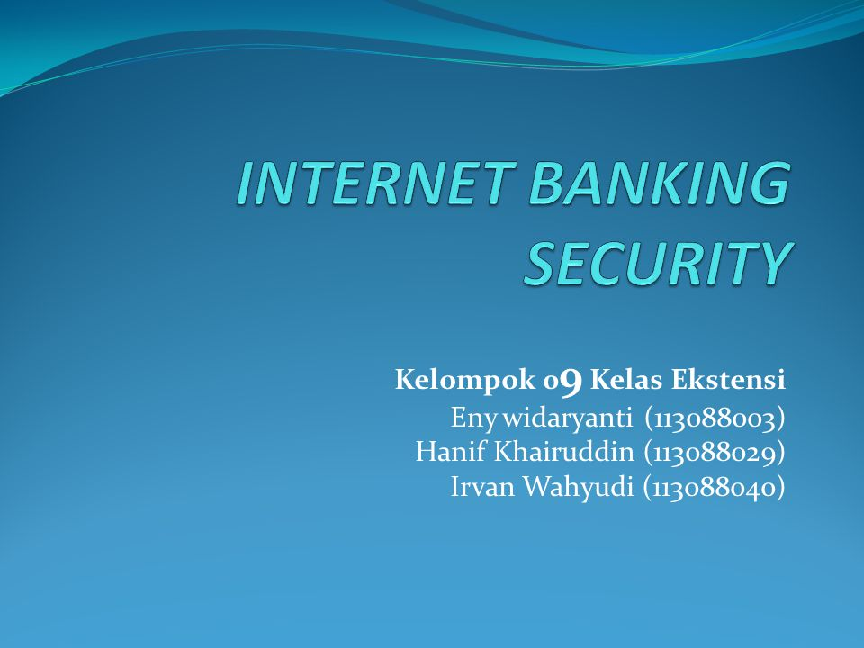 Pengamanan  Teknis  firewall  Intrusion Detection System (IDS)  cryptography  Non-teknis  awareness  membuat policy (procedure)  Aspek keamanan  authentication  confidentiality / privacy  non-repudiation  availability