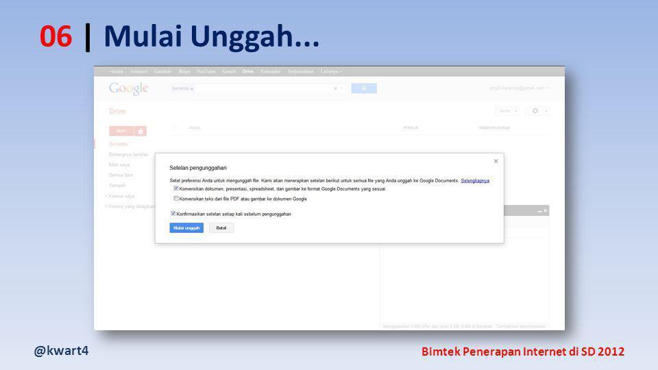 @kwart4 Bimtek Penerapan Internet di SD 2012 06 | Mulai Unggah...