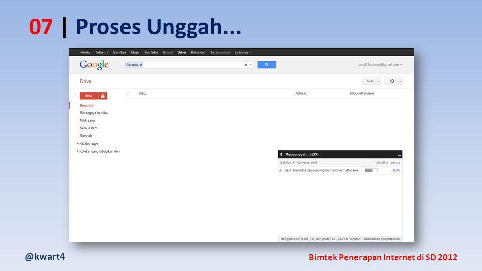 @kwart4 Bimtek Penerapan Internet di SD 2012 07 | Proses Unggah...