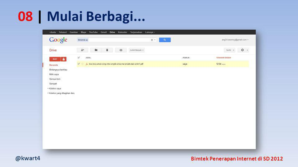 @kwart4 Bimtek Penerapan Internet di SD 2012 08 | Mulai Berbagi...