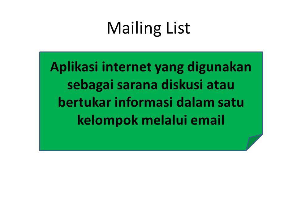 Aplikasi internet yang digunakan untuk mengirimkan atau mengambil file dari atau ke komputer lain