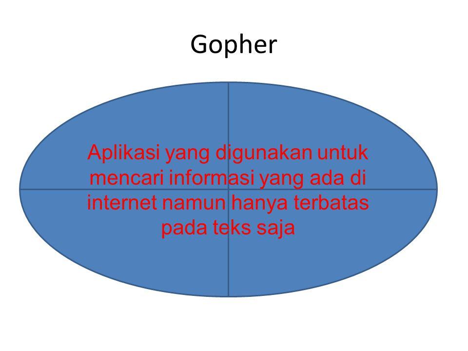 Newsgroup Aplikasi yang digunakan untuk berkomunikasi satu sama lain dalam sebuah forum