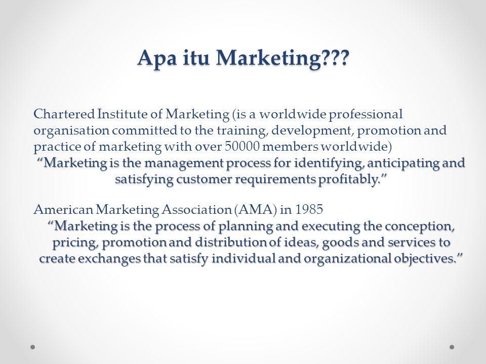 Prinsip-prinsip dasar Marketing/Pemasaran • Untuk mendapatkan keunikan yang dapat meningkatkan nilai tambah, di dalam ilmu pemasaran/marketing terdapat suatu rumus pemasaran yang biasa disebut dengan Four Ps.